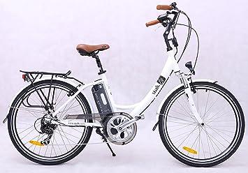 "UUALK SUN - Bicicleta Eléctrica Paseo SHIMANO, 26"", aluminio 7003, bat."