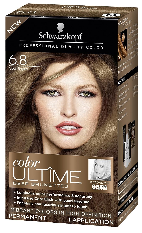 Amazon Schwarzkopf Color Ultime Hair Color Cream 68 Cool