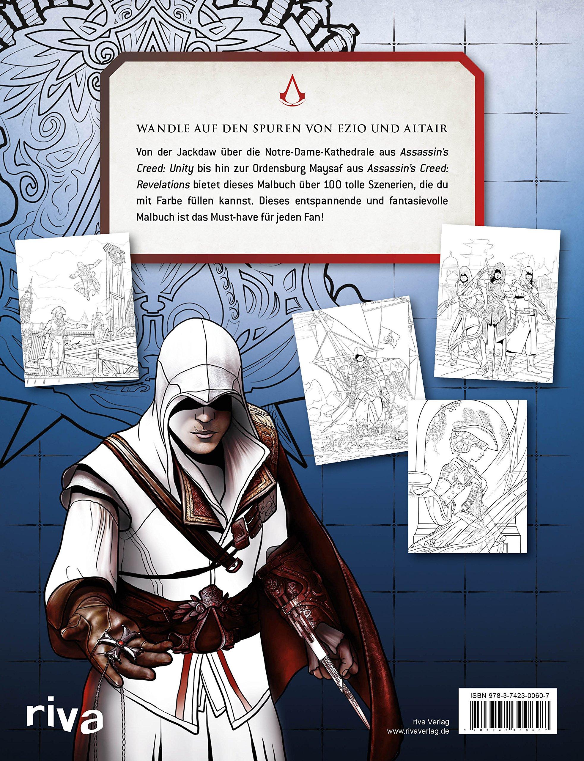 Assassin\'s Creed: Das Malbuch: Amazon.de: Bücher