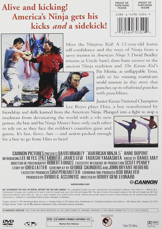 Amazon.com: American Ninja 5 (DVD): John Bryant, George ...