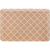 """AmazonBasics Anti-Fatigue Standing Comfort Mat for Home Kitchen and Office - 20"""" x 30"""", Tan Pattern"""