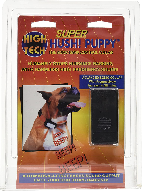 High Tech Pet Super Hush Puppy Progresivo est/ímulo Sonic Bark Control Collar