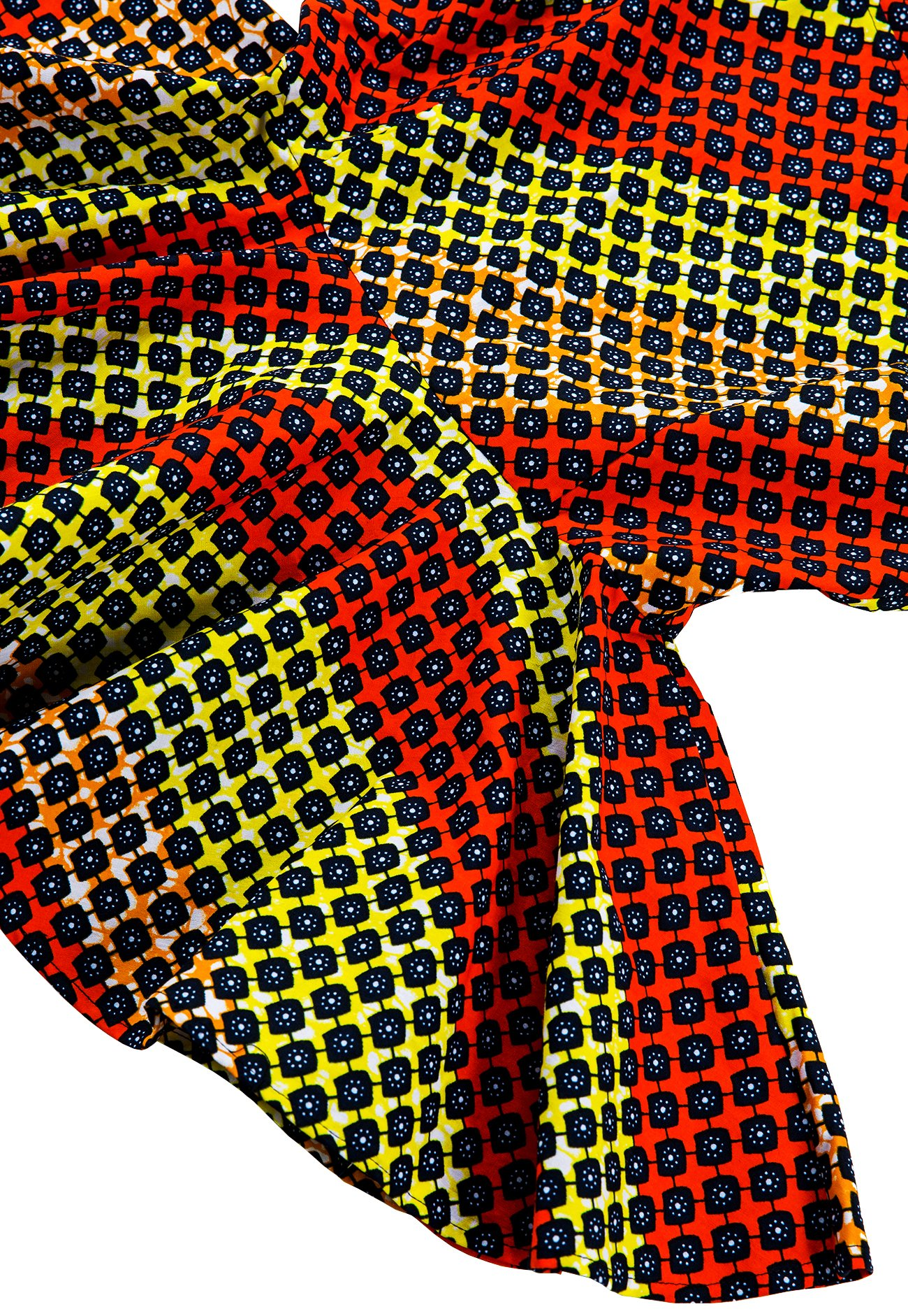 Shenbolen Womens Dashiki Tops Sleeveless Summer African Printed Slim Fit Shirts Blouse (Medium,B) by Shenbolen (Image #4)