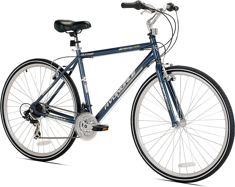 Kent Avondale Bicicleta híbrida de Hombre con Seguro de Parada ...