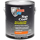 POR-15 46201 Top Coat Safety Orange Paint 128 fl. oz, 1 Gallon