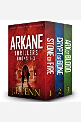 Arkane Thrillers, Books 1 - 3: Stone of Fire, Crypt of Bone, Ark of Blood Audible Audiobook