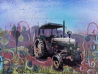 Tractor John Deere Pintura Original Hecha A Mano