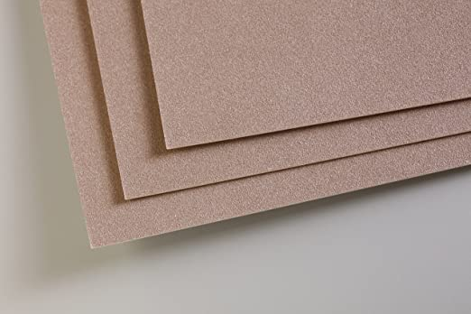 360g 50x70cm Clairefontaine Pastelmat Sheets 5 Pack Brown 50 x 70 cm