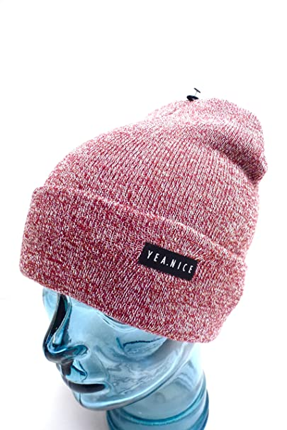 8e05f61851e YEA.Nice Beanie Hat Burgundy Multicolor at Amazon Men s Clothing store