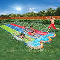 Banzai 42326 Triple Racer Water 16 Feet Long Slide