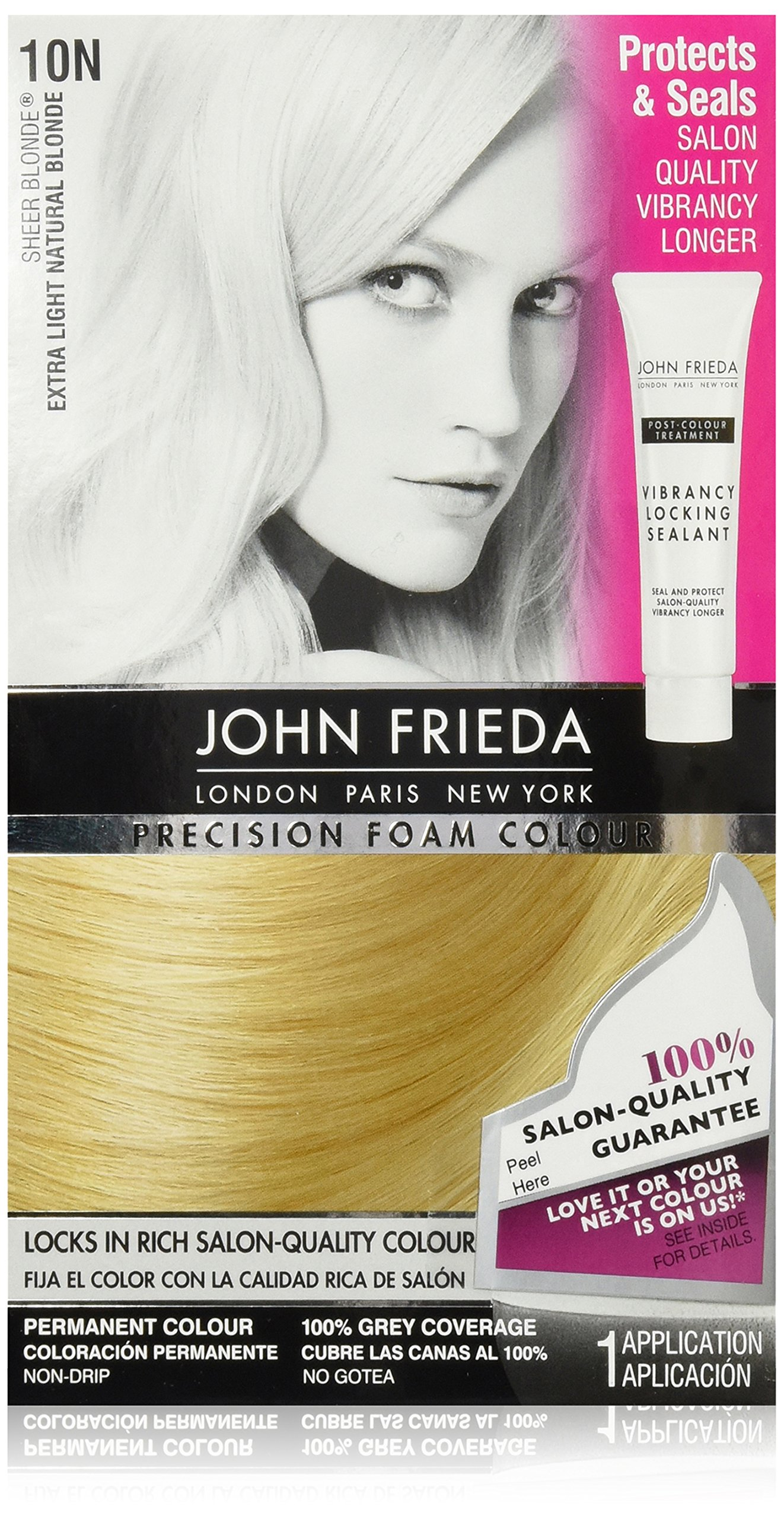 Amazon John Frieda Precision Foam Colour Extra Light Natural