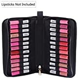 ROWNYEON Portable Lipstick Tester Case Lipstick Stock Case Holder Organization with Carrying Handle Lipstick Makeup Bag