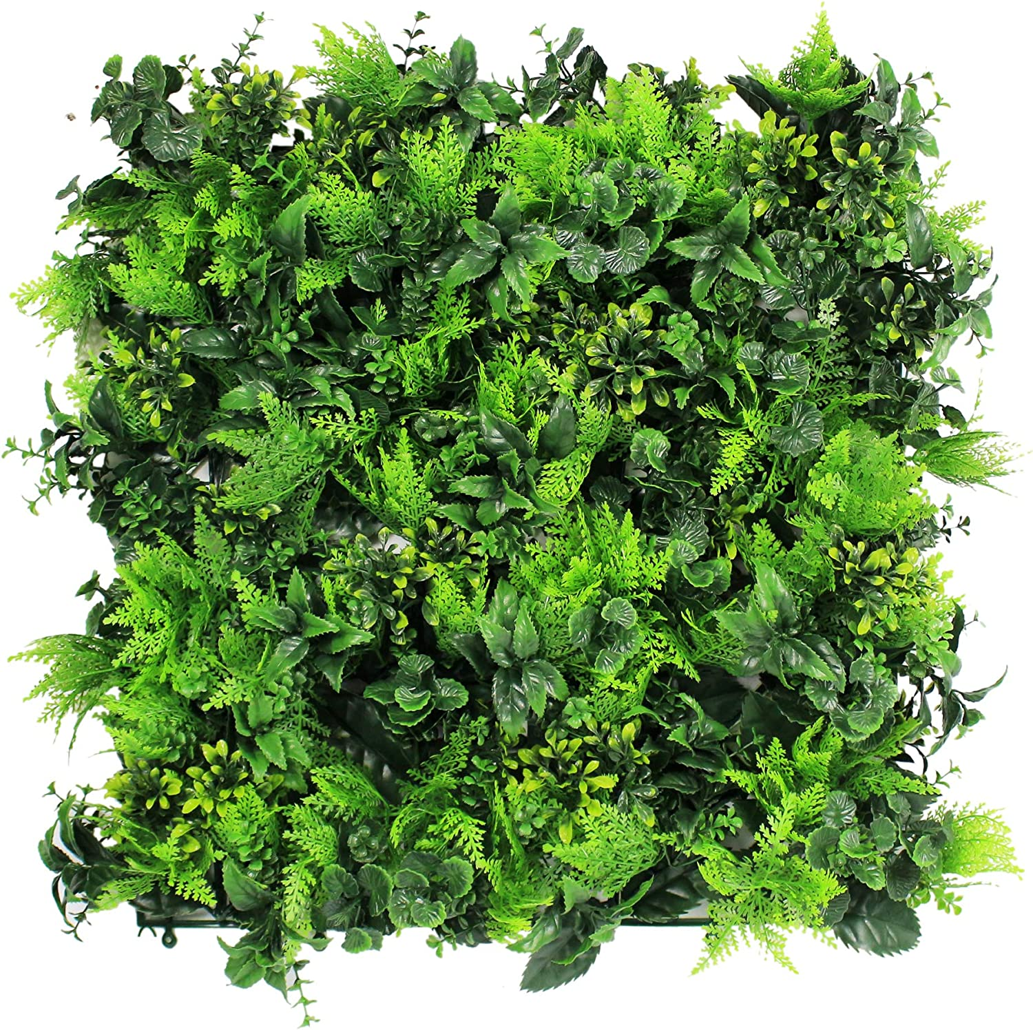 """ULAND Artificial Topiary Hedges Panels, Plastic Faux Shrubs Fence Mat, Greenery Wall Backdrop Decor, Garden Privacy Screen Fence, Pack of 12pcs 20""""x20"""""""