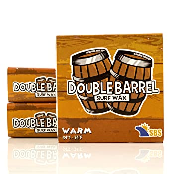 Double Barrel Surf Wax