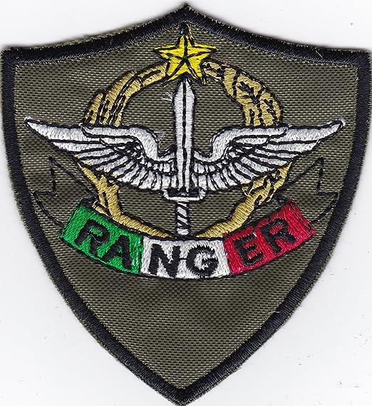 Patch Italia Ranger Army Ejército F. verde militar cm 6,5 x 7 parche bordado -1194: Amazon.es: Hogar