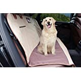 Pet Dog Seat Cover + Bungee Elastic Shock Absorbing Safety Seat Belt + Travel Bag By Petter - Non slip, Waterproof Material, Cover & Hammock - Bench Protector for Cars, SUV, Truck Backseat