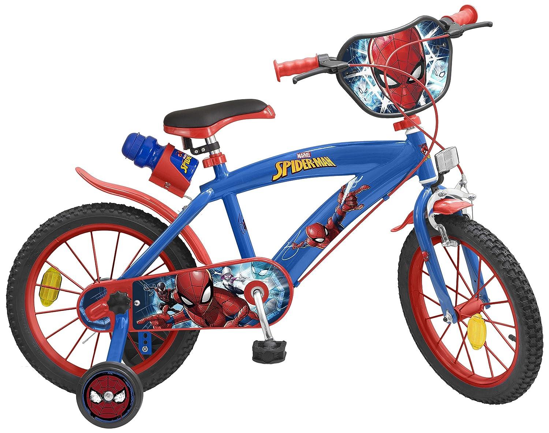 Toimsa 85-876 - Bicicleta 16 Spiderman