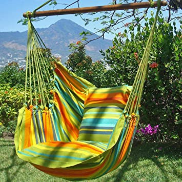 rio dreaming single-person hammock chair/swing