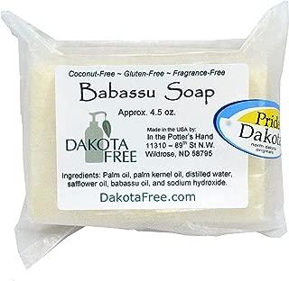 product image for Dakota Free Babassu Soap 4.5 oz Bar (Coconut Free) Head to Toe Shampoo Bar