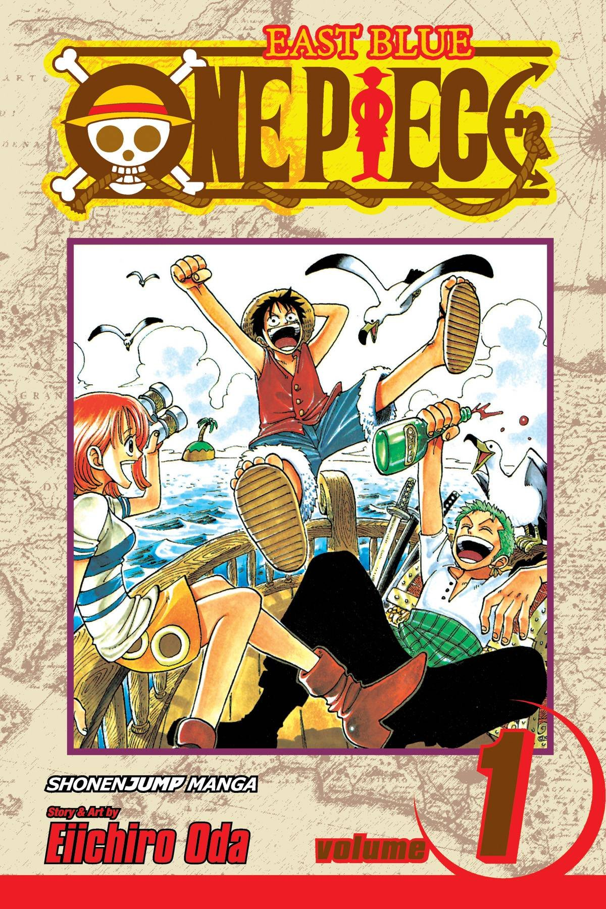 Image result for one piece volume 1