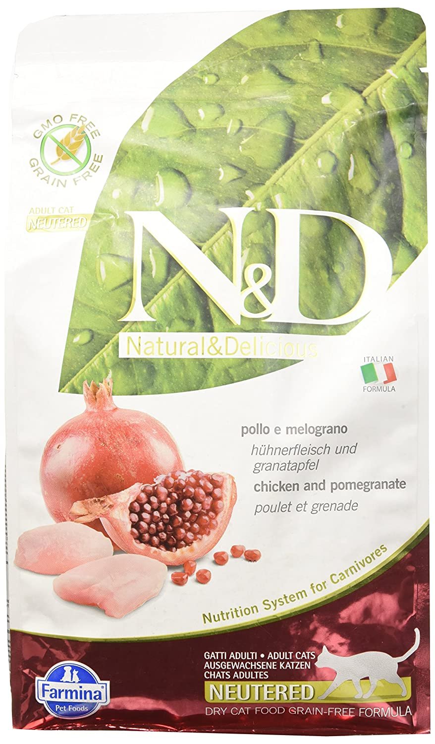 FARMINA - ndgr. ainfree Pol - Melogr.KG. 1,5 - Neutered: Amazon.es: Productos para mascotas