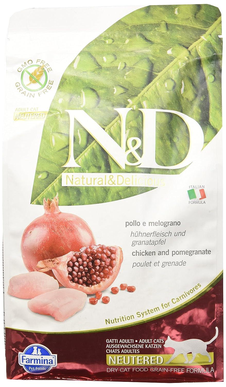 FARMINA ndgr. ainfree Neutered Pollo y melogr. Ano 5kg.–Gato 8010276032690