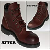 WORK BOOT DOCTOR leather repair/protection kit - dark brown