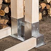Holzstapelhilfe aus Metall