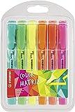 Stabilo Swing Cool Evidenziatore Edizione Colormatrix Colori Assortiti - Astuccio da 6