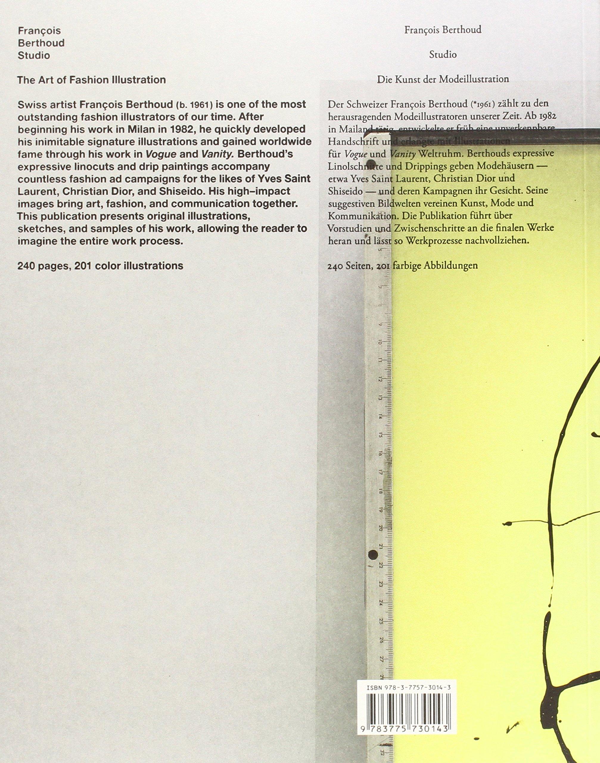 François Berthoud: Studio: The Art of Fashion Illustration (English ...