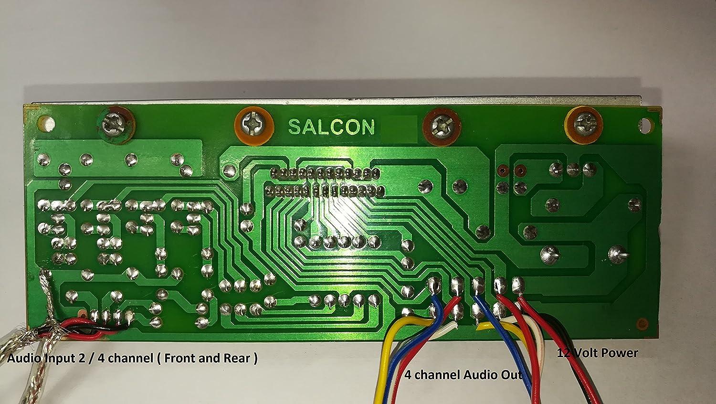 Salcon Electronics Hifi Tda7388 4 Channels Audio Powertronixinductor1jpg
