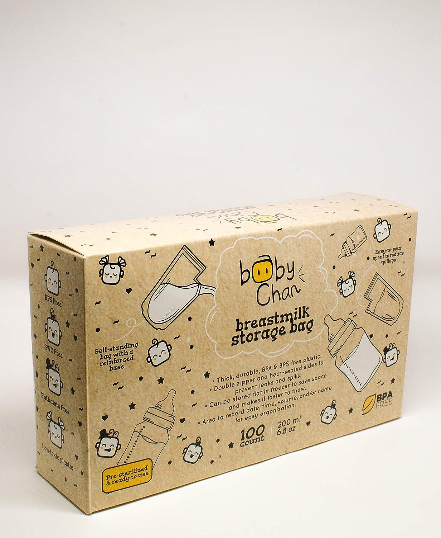 Amazon.com: Bolsas de almacenamiento de leche materna Baby ...