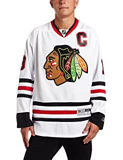 the latest 9431b 103c2 Amazon.com : Reebok Chicago Blackhawks Premier Home Jersey ...
