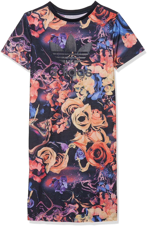 adidas J Rose Tdress Vestido, Niñas, Multicolor (Multco/Tinley), 158: Amazon.es: Deportes y aire libre
