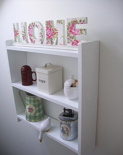 60 cm, Weiß Standregal Wandregal, Für Küche, Schlafzimmer ...