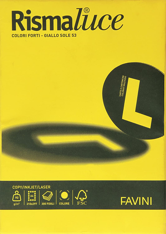 Favini A66C304 Carta Colorata Rismaluce