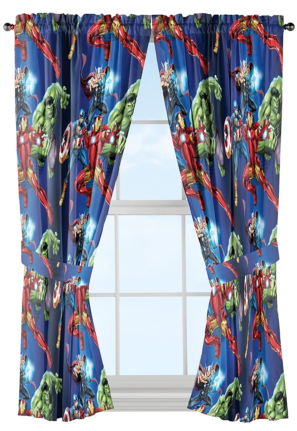 Marvel Avengers Curtain Panel Pair