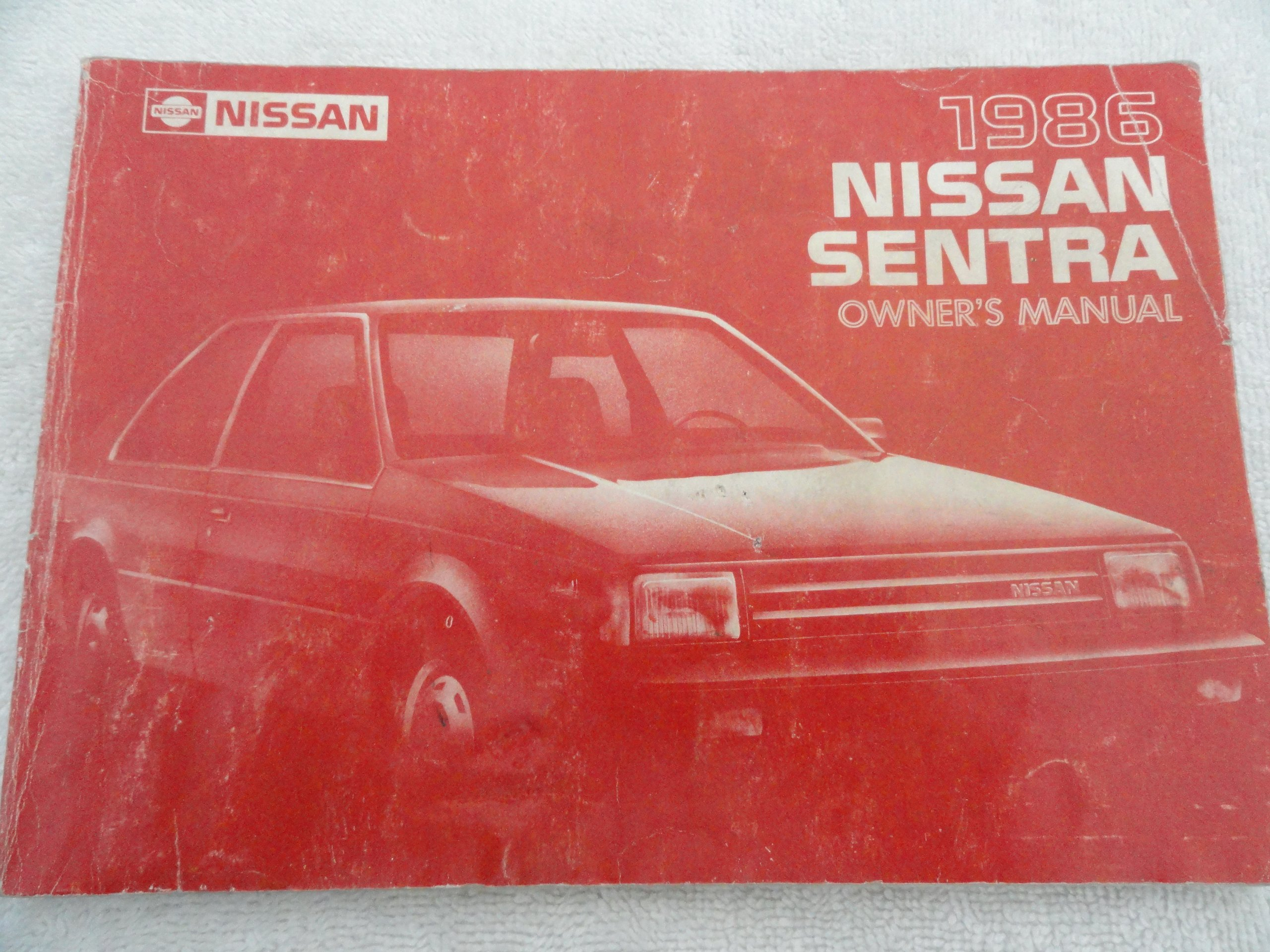 1986 Nissan Sentra Owners Manual Other Car & Truck Manuals ...