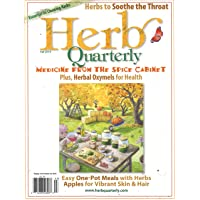 1-Year (4 Issues) of Herb Quarterly Magazine Subscription