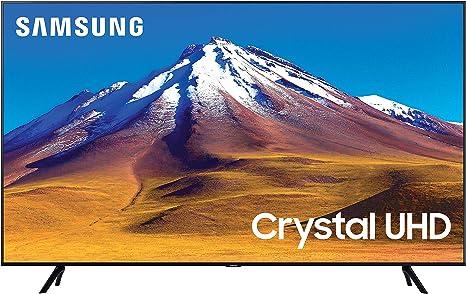 """Samsung tv tu7090 smart tv 50"""", crystal uhd 4k, wi-fi, black, 2020 [classe di efficienza energetica a] UE50TU7090UXZT"""