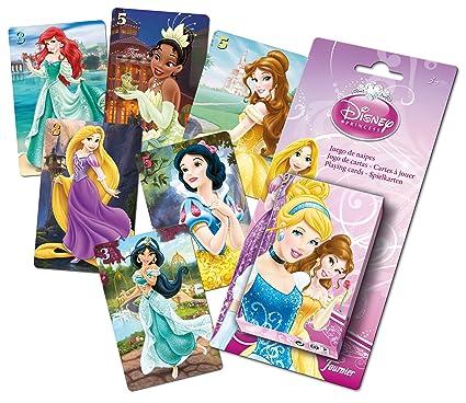 Disney Princesas Baraja Infantil con 40 Cartas (Naipes Heraclio Fournier F43644)