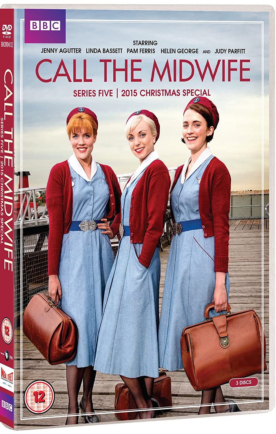 Call the Midwife - Series 5 + 2015 Christmas Special DVD 2016 ...