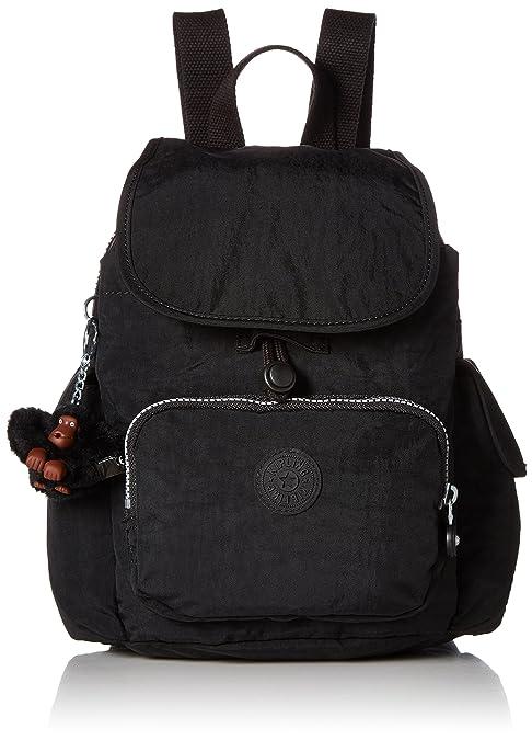 26f9b3966 Kipling City Pack XS - Mochila, color negro: Amazon.com.mx: Ropa ...