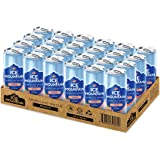 Ice Mountain Sparkling Peach Can, 325 ml (Pack of 24)