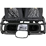 Double Stroller Organizer for Bob Duallie and Baby Jogger City Mini GT