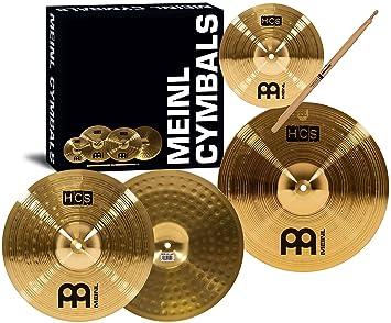 Meinl HCS Cymbal Set, 14H/16C/20R - Box Sets - Cymbals : Drum ...