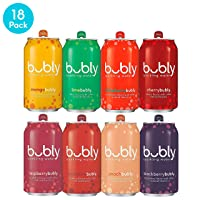 Deals on 18-Pack Bubly Sparkling Water 12 Fluid Ounces Cans
