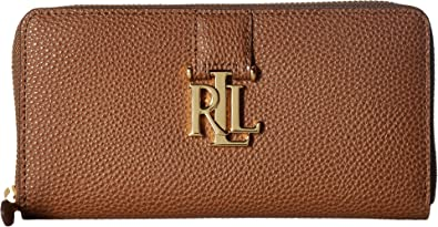 12b77f8163 Amazon.com  LAUREN Ralph Lauren Women s Carrington Zip Wallet Field ...
