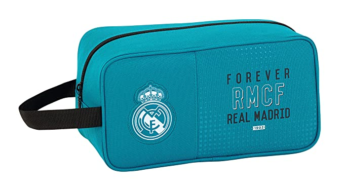 Safta Zapatillero Real Madrid 3ª Equip. 17/18 Oficial Zapatillero Mediano 290x140x150mm