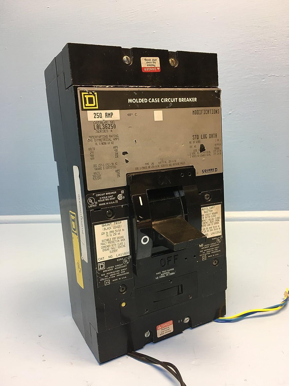 Quadratisch D – lal36250 – Leitungsschutzschalter, 250 A, Polzahl: 3 ...